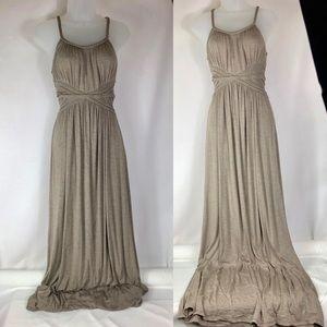 Jersey knit maxi dress Max Studios size small